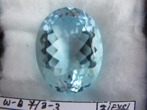 Aquamarine (27.5 X 20.5)