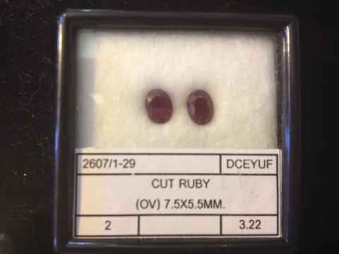 Pair of Rubies (7.5 x 5.5)