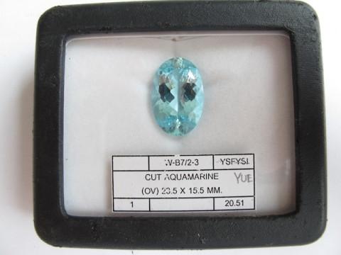 Aquamarine (23.5 x 15.5)