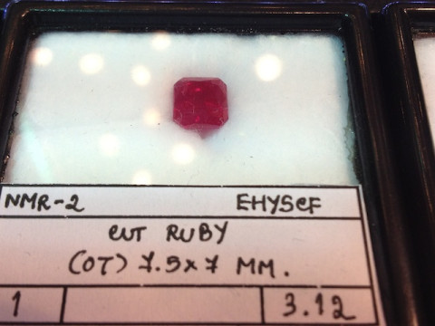 Ruby (7.5 x 7 octagon)