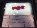 Rubies (set of 3)
