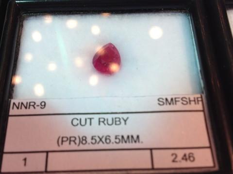 Ruby (8.5 x 6.5 pear)